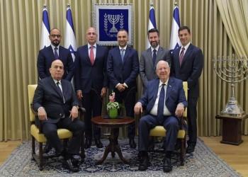 الرئيس الإسرائيلي يستضيف وفد كبار رجال الأعمال المصريين