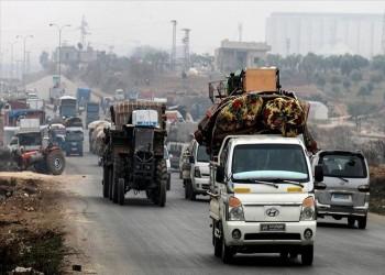 350 ألف سوري نزحوا من إدلب منذ أوائل ديسمبر