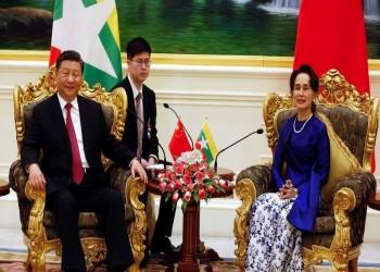 """اتفاقات بين الصين وميانمار تسرع مبادرة """"الحزام والطريق"""""""