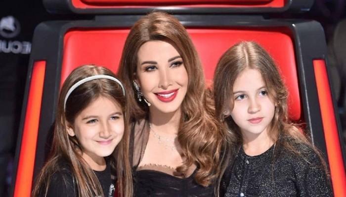 نانسي عجرم لابنتيها: بأرواحنا نحميكم.. ومغردون يهاجمونها