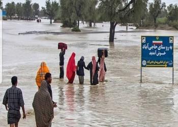 السيول تغرق 400 قرية في إيران