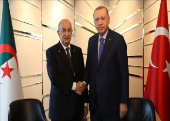 أردوغان يلتقي نظيره الجزائري على هامش مؤتمر برلين