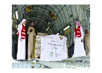 أول شحنة مساعدات طبية قطرية تصل إلى السودان