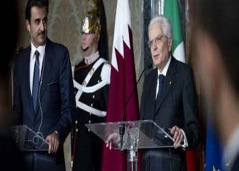 أمير قطر يستقبل الرئيس الإيطالي صباح الثلاثاء في الدوحة