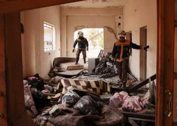 الخوذ البيضاء: نظام الأسد وحلفاؤه يستهدفون إدلب بكارثة إنسانية كبيرة