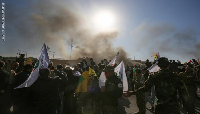 استهداف جديد للسفارة الأمريكية ببغداد بصواريخ كاتيوشا