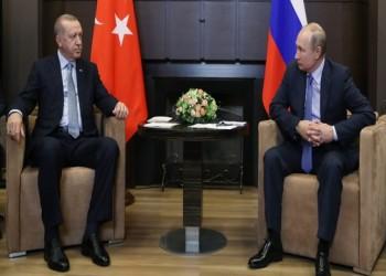 أردوغان يطلب تدخل بوتين لوقف هجوم قوات الأسد على إدلب