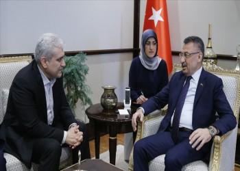 نائب الرئيس التركي يبحث مع نظيره الإيراني العلاقات التجارية
