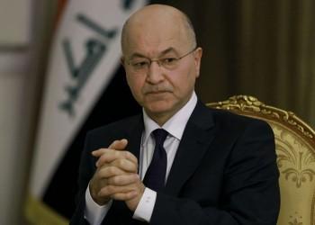 حزب الله العراقي يهدد صالح بالطرد إذا التقى ترامب