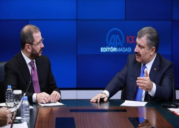 وزير الصحة التركي: فيروس كورونا الجديد غير موجود ببلادنا