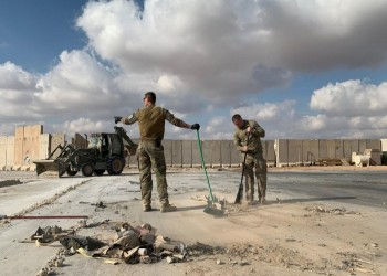 جنود أمريكيون يغادرون العراق لفحص إصابات محتملة