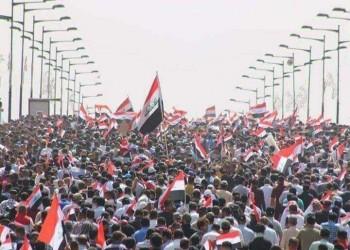 تظاهرات حاشدة ببغداد للمطالبة بخروج القوات الأمريكية