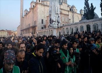 أتراك يتضامنون مع المقدسيين في حملة الفجر (شاهد)