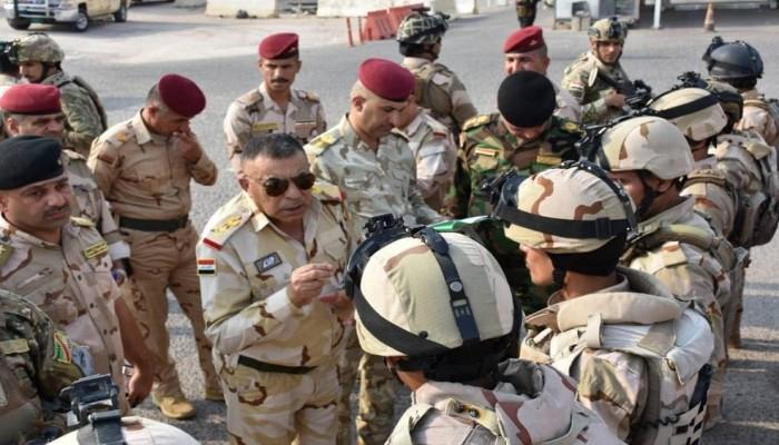 قائد عمليات البصرة يوجه بنزول الجيش إلى الشارع لفرض الأمن