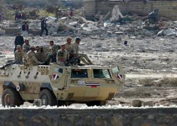 الجيش المصري يقتل مواطنين في شمال سيناء