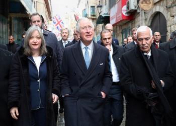 ولي عهد بريطانيا يبعث رسالة دعم قوية للفلسطينيين