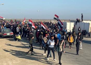 قتلى بين المتظاهرين باشتباكات مع قوات الأمن العراقية