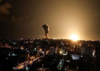 إسرائيل تقصف موقعين للمقاومة جنوبي غزة