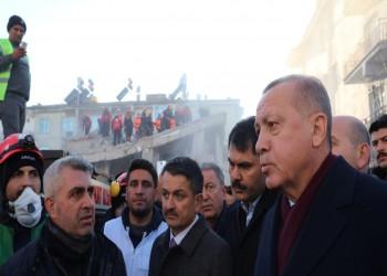 ارتفاع ضحايا زلزال تركيا لـ35 وأردوغان يتعهد ببناء منازل للمتضررين