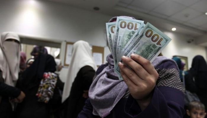 غزة.. بدء صرف الدفعة 13 من المنحة القطرية