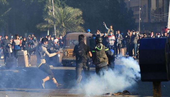 مقتل متظاهرين اثنين برصاص قوات الأمن في بغداد