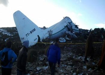 سقوط طائرة عسكرية جزائرية ومقتل طاقمها