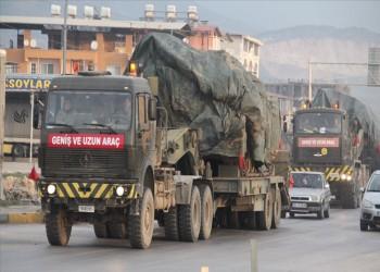 تعزيزات عسكرية تركية تصل إلى الحدود السورية