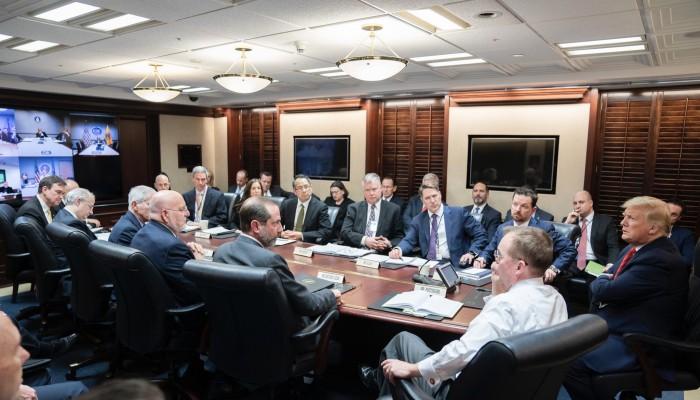 ترامب يعلن تأسيس وحدة خاصة لمواجهة كورونا الجديد