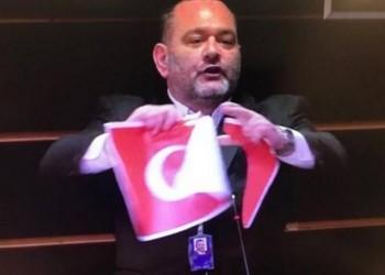 تمزيق علم تركيا بالبرلمان الأوروبي يثير غضب أنقرة.. ما القصة؟