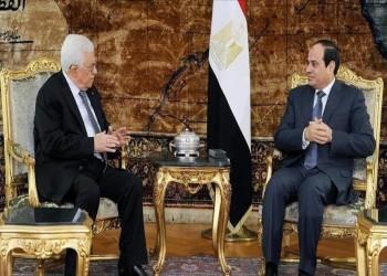 عباس والسيسي يلتقيان قبيل اجتماع وزراء الخارجية العرب