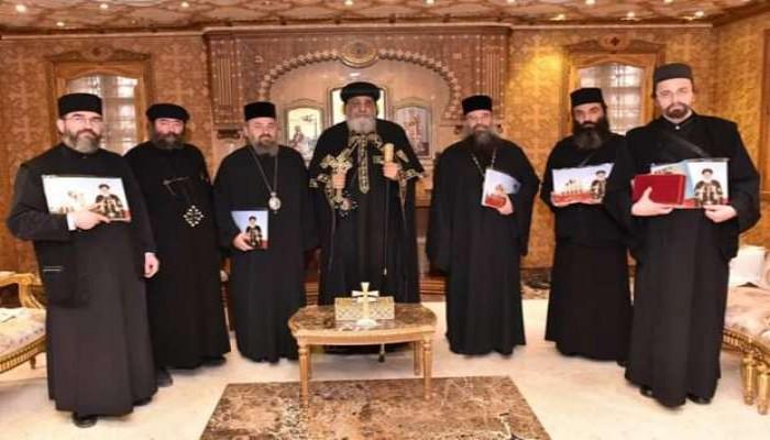 تواضروس لوفد الكنيسة الرومانية: مصر جزء من الأرض المقدسة