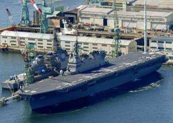 سفينة حربية يابانية تبدأ مهامها في خليج عمان