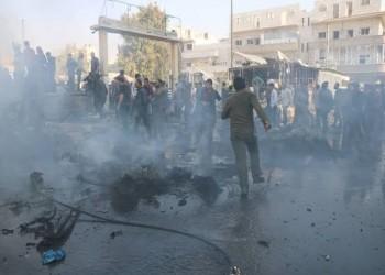 قصف روسي للباب السورية الخاضعة لسيطرة فصائل مدعومة تركيا