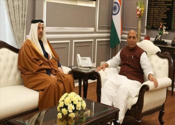 وزير الدفاع القطري يبحث مع نظيره الهندي تعزيز العلاقات