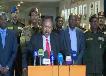 الحكومة السودانية: البرهان لم يعد نتنياهو بالتطبيع والتقاه دون علمنا