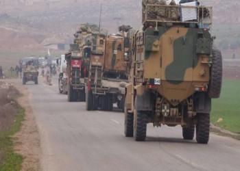 النظام السوري: رتل عسكري تركي انتشر فجرا في إدلب