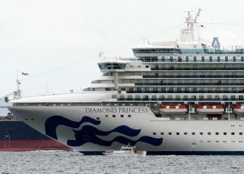 السفينة الموبوءة بكورونا في اليابان.. عدد المصابين يرتفع لـ64