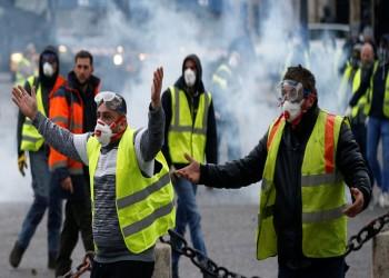 اعتقال 32 شخصا ضمن مظاهرات السترات الصفراء في فرنسا