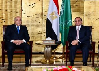السيسي وتبون يبحثان الأوضاع في ليبيا