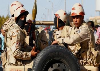 الجيش المصري: مقتل وإصابة 7 عسكريين خلال التصدي لهجوم بسيناء