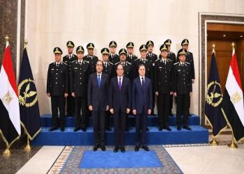 السيسي يقرر مساواة الشرطة بالجيش في معاشات ضحايا العمليات الأمنية
