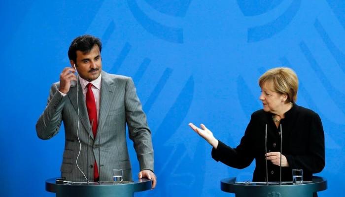 تميم وميركل يبحثان هاتفيا المستجدات في ليبيا بعد مؤتمر برلين