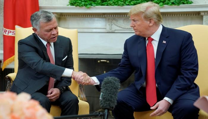 صفقة القرن.. اختبار حقيقي للتحالف الاستراتيجي الأردني الأمريكي