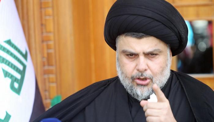 الصدر يحل القبعات الزرقاء المتهمة بقتل متظاهرين عراقيين