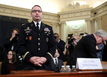 ترامب: الجيش الأمريكي قد ينظر في تأديب الكولونيل المقال فيندمان