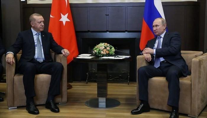 أردوغان: بحثت مع بوتين أضرارا ألحقها جيش الأسد وروسيا بقواتنا