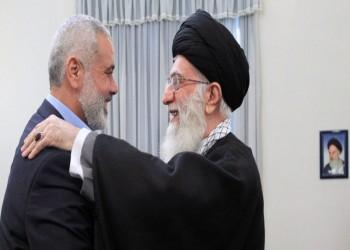 هنية يهنئ خامنئي بذكرى الثورة الإيرانية