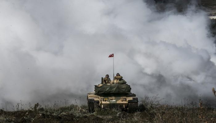الجيش التركي يعلن تحييد 55 من قوات الأسد في إدلب