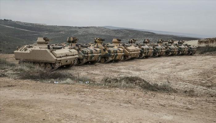 الجيش التركي يعزز نقاط المراقبة في إدلب بقوات كوماندوز