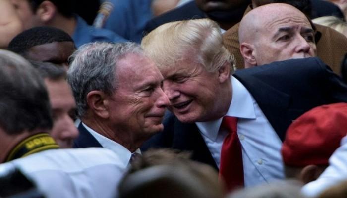 ترامب وبلومبرج يتبادلان الإهانات: فاشل ومهرج